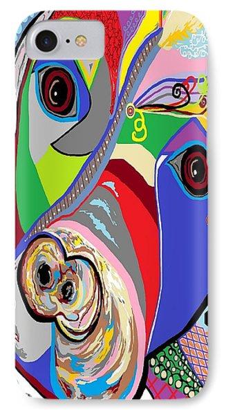 Pretty Pitty Phone Case by Eloise Schneider
