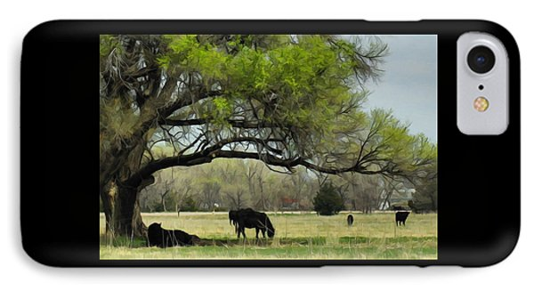 Shady Rest IPhone Case by Bill Kesler