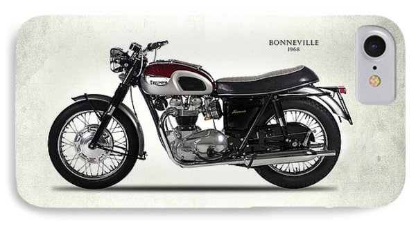 Triumph Bonneville 1968 IPhone 7 Case by Mark Rogan