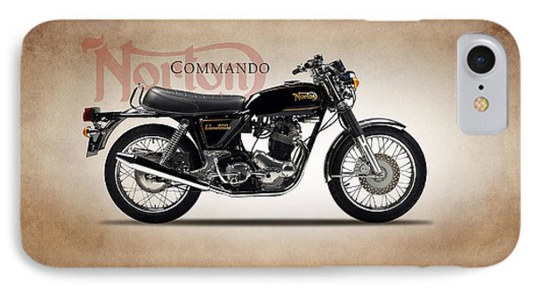 Norton Commando 1974 IPhone 7 Case by Mark Rogan