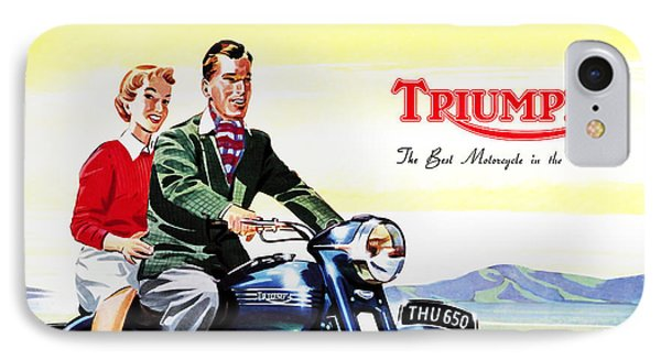 Triumph 1953 IPhone Case by Mark Rogan