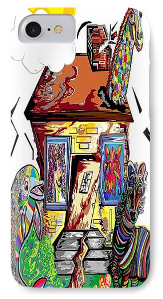 Animal House Phone Case by Eloise Schneider