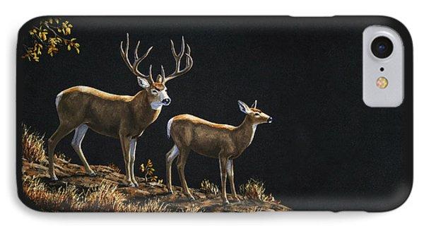 Mule Deer Ridge Phone Case by Crista Forest