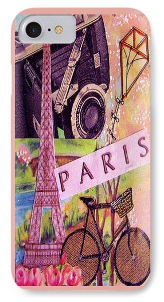 Paris  Phone Case by Eloise Schneider