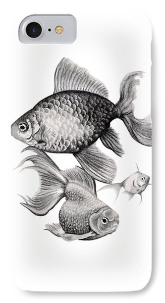 Goldfish IPhone Case by Sarah Batalka