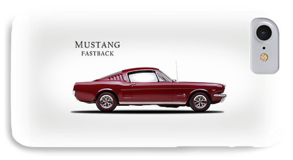 Ford Mustang Fastback 1965 Phone Case by Mark Rogan