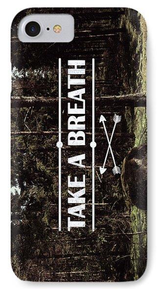 Take A Breath IPhone Case by Nicklas Gustafsson