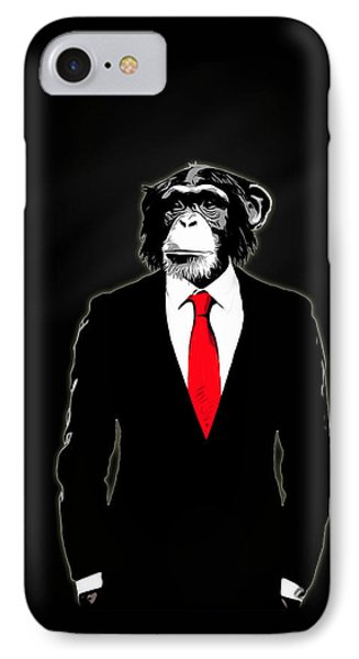Domesticated Monkey IPhone 7 Case by Nicklas Gustafsson