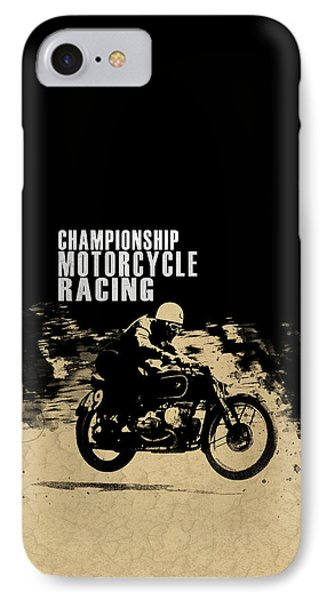 Crystal Palace Motorcycle Racing IPhone Case by Mark Rogan