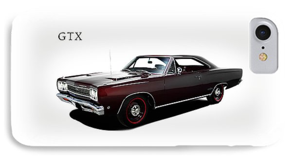 Plymouth Gtx 1968 IPhone Case by Mark Rogan