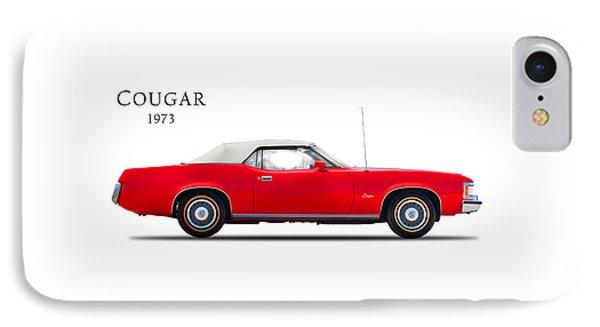 Mercury Cougar 1973 IPhone Case