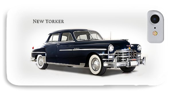 Chrysler New Yorker 1949 IPhone 7 Case by Mark Rogan