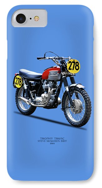 1964 Steve Mcqueen Isdt IPhone Case