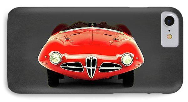Alfa Romeo 1900 IPhone Case by Mark Rogan