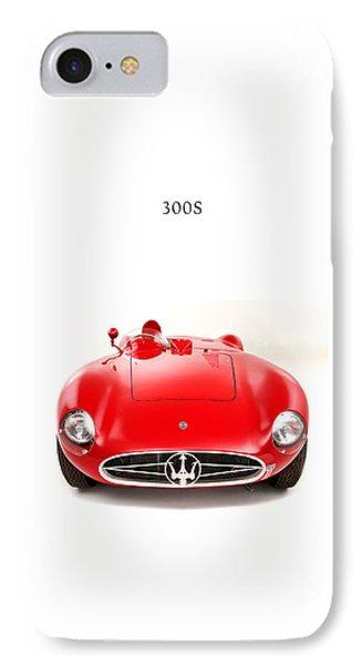 Maserati 300 S IPhone Case by Mark Rogan