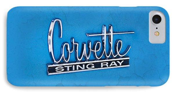 Corvette Sting Ray IPhone Case by Mark Rogan