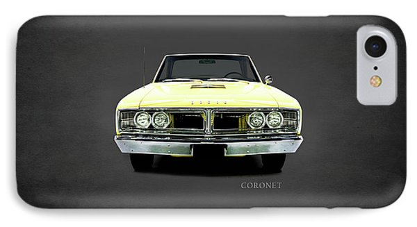 Dodge Coronet 500 IPhone Case by Mark Rogan