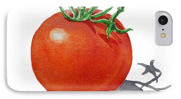Artz Vitamins Tomato IPhone Case