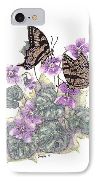 As Close To The Flowers IPhone Case by Stanza Widen