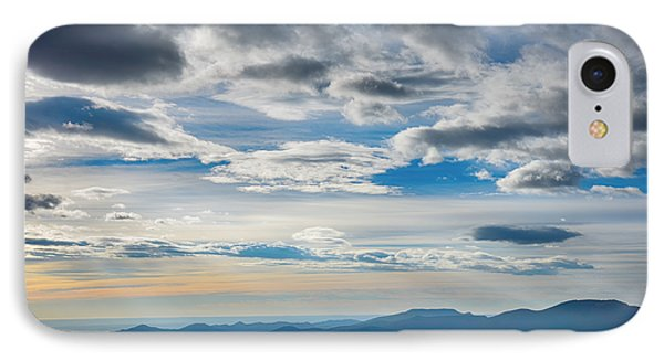 As High As The Clouds IPhone Case by Angelina Vick
