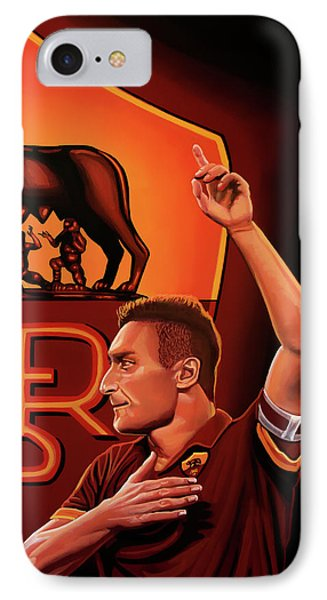 As Roma Painting IPhone Case by Paul Meijering