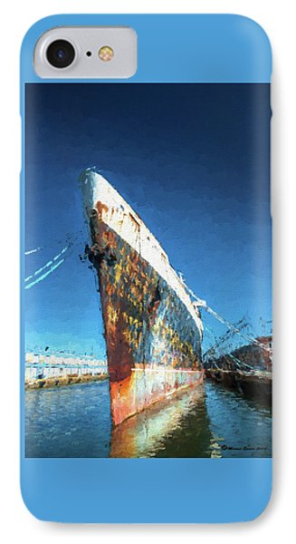 As She Rusts Away IPhone Case by Marvin Spates