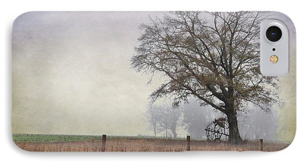 As The Fog Sets In Phone Case by Jan Amiss Photography