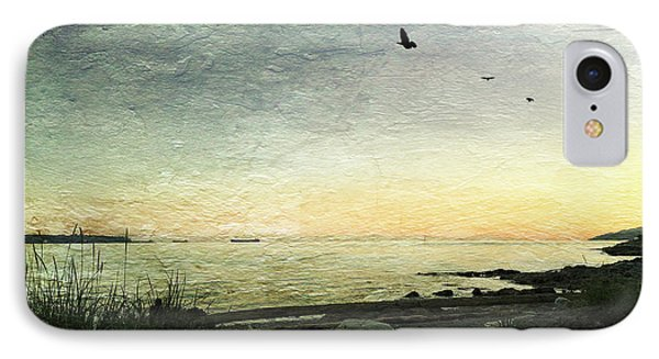 IPhone Case featuring the photograph As The Sky Darkens  by Connie Handscomb