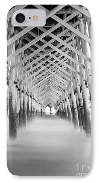As The Water Fades Grayscale IPhone Case