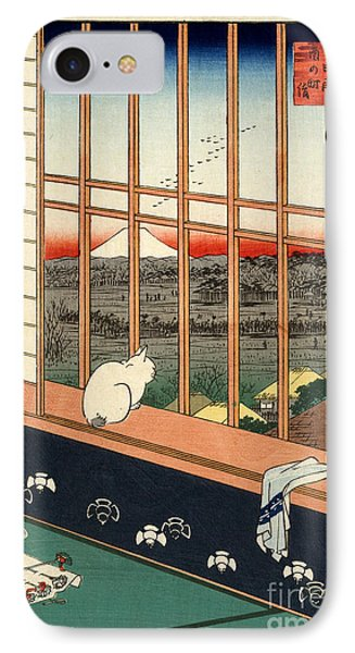 Asakusa Rice Field Phone Case by Pg Reproductions