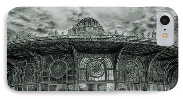 Asbury Park Carousel House IPhone Case by Allison Coffin
