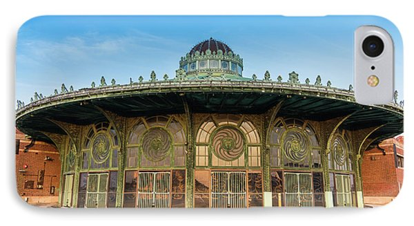 Asbury Park Carousel IPhone Case by Tom Rostron