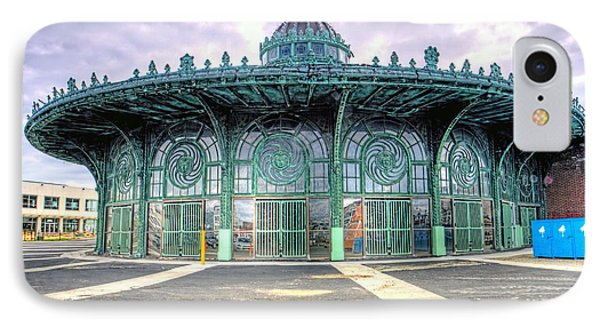 Asbury Park New Jersey Casino  IPhone Case by Geraldine Scull