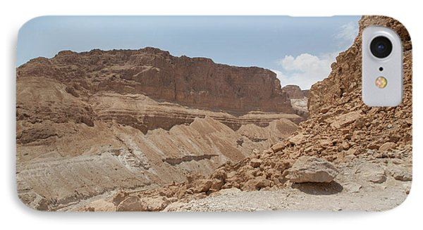 IPhone Case featuring the photograph Ascension To Masada - Judean Desert, Israel by Yoel Koskas