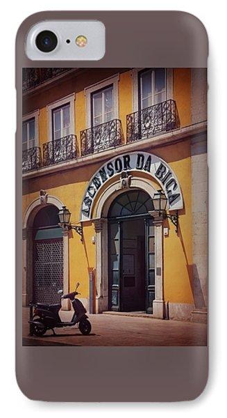 Ascensor Da Bica Lisbon IPhone Case by Carol Japp