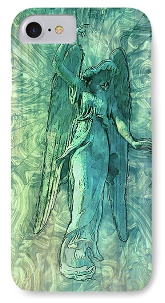 Ascending Angel 2016 IPhone Case by Jack Zulli
