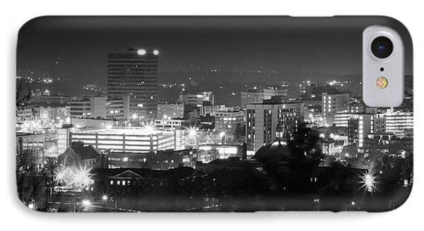 Asheville North Carolina Skyline IPhone Case