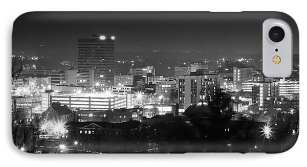 Asheville North Carolina Skyline Phone Case by Gray  Artus