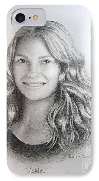 Ashley IPhone Case by Patricia Schneider Mitchell