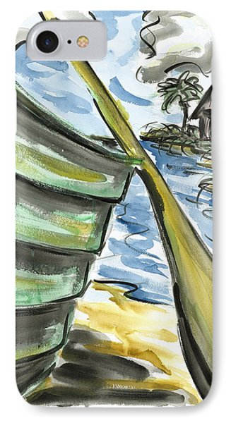 IPhone Case featuring the painting Ashore by Robert Joyner
