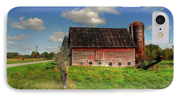 Ashtabula County Barn Phone Case by Tony  Bazidlo