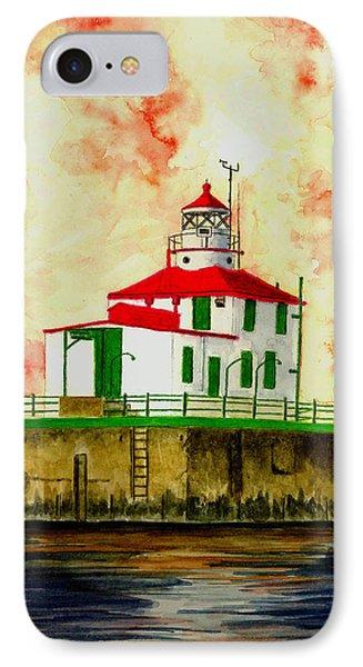 Ashtabula Lighthouse Phone Case by Michael Vigliotti
