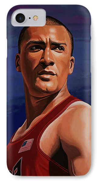Ashton Eaton Painting IPhone Case