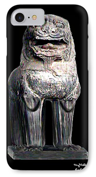 Asian Lion Jgibney The Museum Phone Case by The MUSEUM Artist Series jGibney