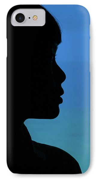 Mystery Woman Phone Case by John Janicki