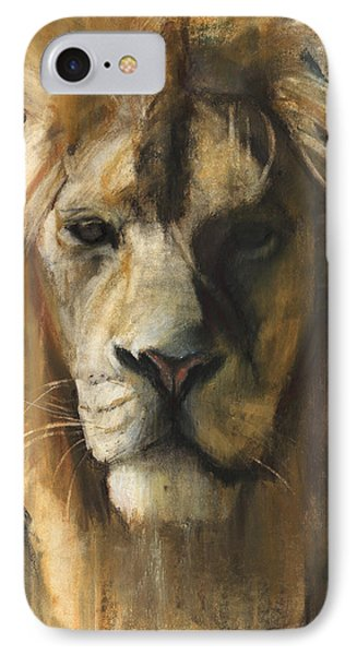 Asiatic Lion IPhone 7 Case by Mark Adlington