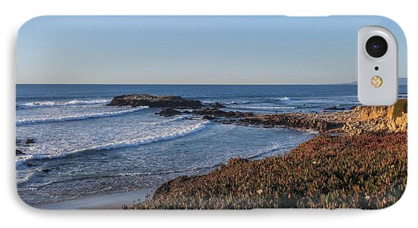Asilomar Shoreline IPhone Case by Mark Barclay