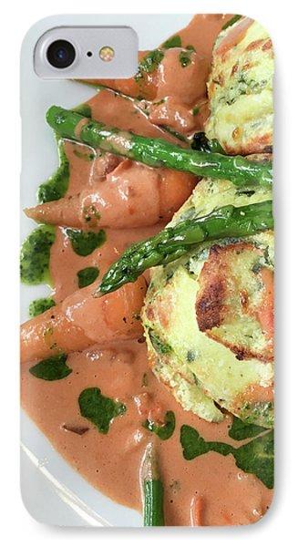 Asparagus Dish IPhone 7 Case by Tom Gowanlock