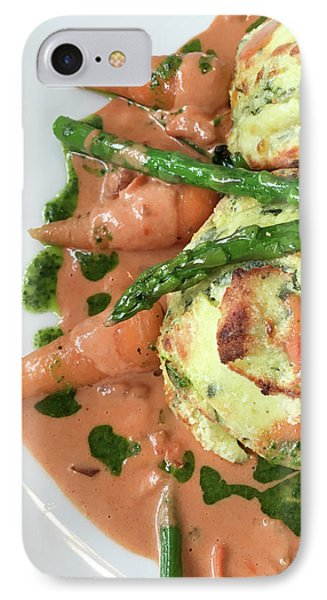 Asparagus Dish IPhone Case by Tom Gowanlock