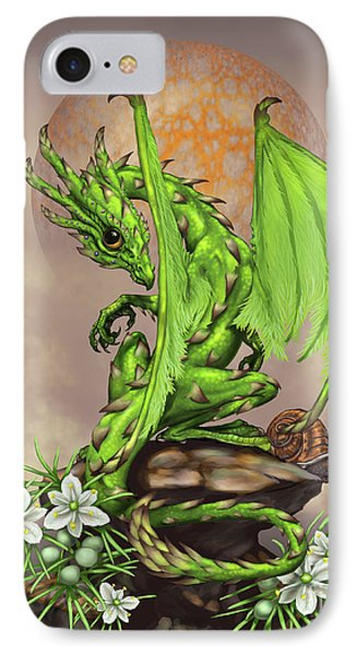 Asparagus Dragon IPhone 7 Case by Stanley Morrison